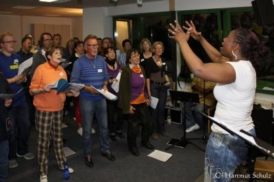 2013 Projektprobe: The Gospel of Aretha